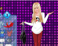 Hannah Montana dress up 2 Hannah Montana j�t�kok ingyen