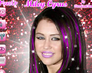 Make up Miley Cyrus online j�t�k